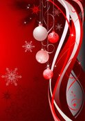 Christmas,Abstract,Red,Wint...