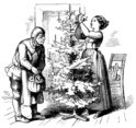 Engraving,Maid,Holiday - Ev...