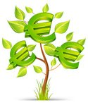 Euro Symbol,Tree,Currency,G...