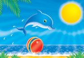 Dolphin,Cartoon,Animation,B...