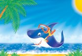 Shark,Cartoon,Animation,Fis...