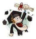 Graduation,Student,Cartoon,...