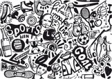Doodle,Sport,Exercising,Bac...