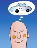 Car,Dreamlike,Thinking,Slee...