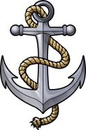 Anchor,Rope,Vector,Ilustrat...