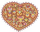 Heart Shape,Ukrainian Cultu...