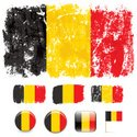 Belgium,Flag,Grunge,Nationa...