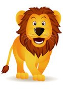 Lion - Feline,Cartoon,Vecto...