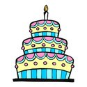 Cake,Birthday,Candle,Party - …