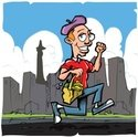French Culture,Running,Men,...