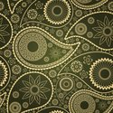 India,Paisley,Pattern,Seaml...