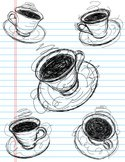 Coffee - Drink,Cup,Scribble...