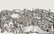 Town,Map,Old,Church,House,H...