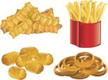 Onion Ring,French Fries,Dee...
