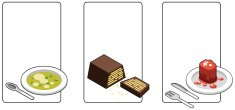 Isometric,Soup,Menu,Cake,Sy...