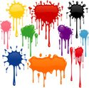 Paint,Spray,Splattered,Spla...