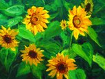 Sunflower,Paintings,Painted...