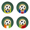 World Map,Cup,Trophy,Portugal…