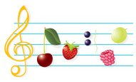 Music,Musical Note,Food,Sum...
