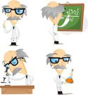 Scientist,Cartoon,Characters,…