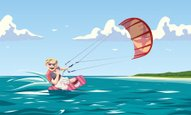 Kiteboarding,Kite - Toy,Sur...