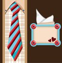 Father's Day,Tie,Button,Vec...