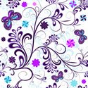 Purple,Butterfly - Insect,P...