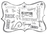 Wedding,Frame,Doodle,Text,I...