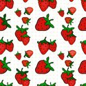 Strawberry,Pattern,Backgrou...