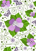 Flower,Pattern,Butterfly - ...