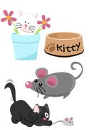 Domestic Cat,Pets,Playing,C...
