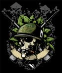 Human Skull,Army,Armed Forc...