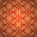 Seamless,Red,Pattern,Gold C...