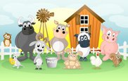 Animal,Farm,Cartoon,Livesto...