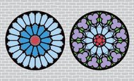 Rose Window,Cathedral,Windo...