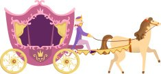 Carriage,Princess,Horse,Fai...