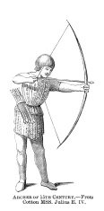 Archery,Engraved Image,Bow,...