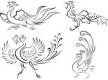 Tattoo,Bird,Design,Sign,Sha...