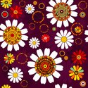 Flower,Pattern,Circle,Backg...
