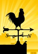 Weather Vane,Rooster,Chicke...