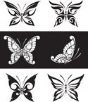 Butterfly - Insect,Tattoo,D...