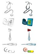 Stethoscope,Vector,Pulse Tr...