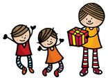 Child,Mother,Family,Gift,Ch...