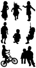 Child,Silhouette,Offspring,...