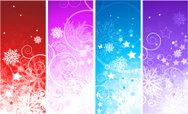 Christmas,Banner,Purple,Cel...