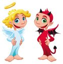 Devil,Angel,Demon,Cute,Chri...