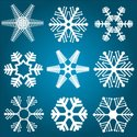 Snowflake,Backgrounds,Winte...
