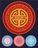 Circle,Chinese Culture,Deco...