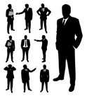 Silhouette,Business,People,...