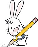 Rabbit - Animal,Cartoon,Pen...